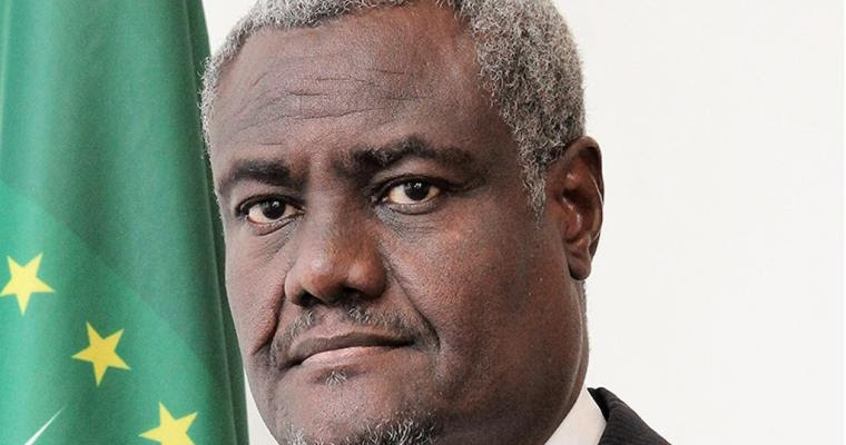 President Kenyatta condoles with family of AU Commission Chairperson Moussa Faki Mahamat