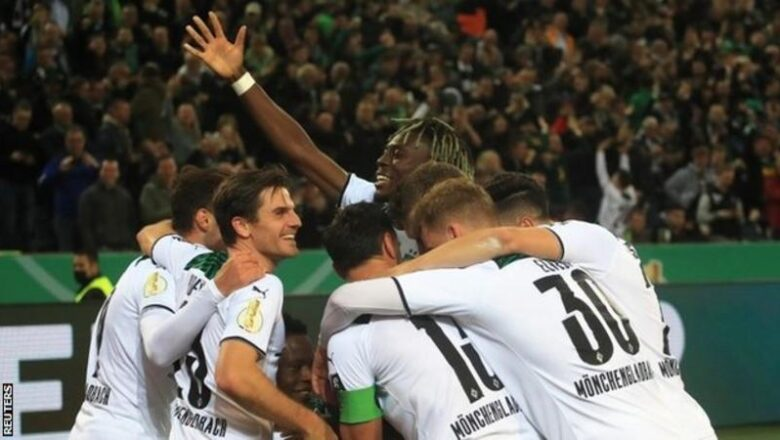 Bayern Munich suffered their biggest defeat since 1978 as they were thrashed at Borussia Monchengladbach in the German Cup second round.