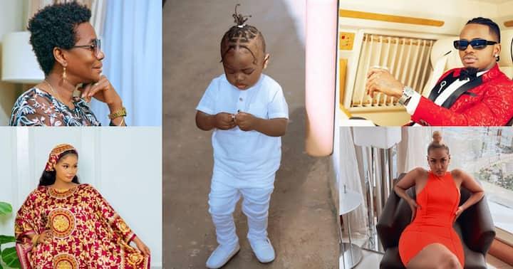 Diamond Platnumz, Mama Dangote and Hamisa Mobetto Celebrate Tanasha's Son on Birthday