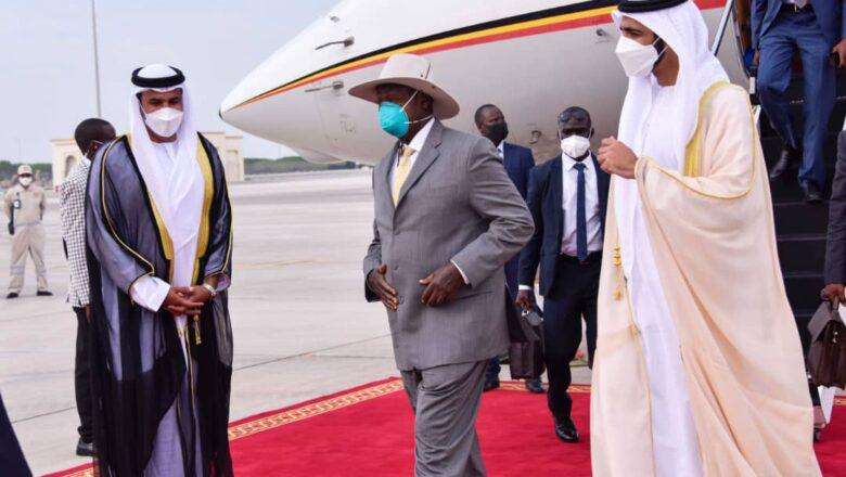 President Museveni in UAE for the Dubai trade Expo