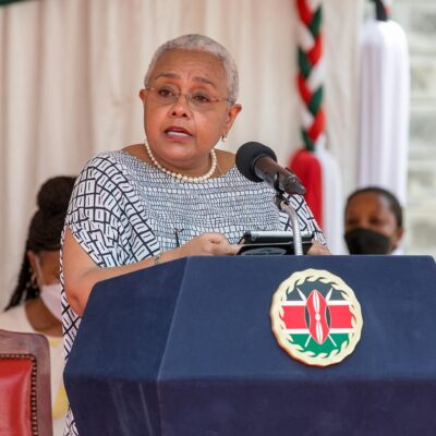 First Lady Margaret Kenyatta appeals for inclusion of palliative services in primary healthcare