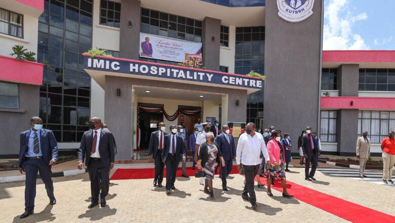 President Kenyatta unveils East Africa's first public molecular imaging centre