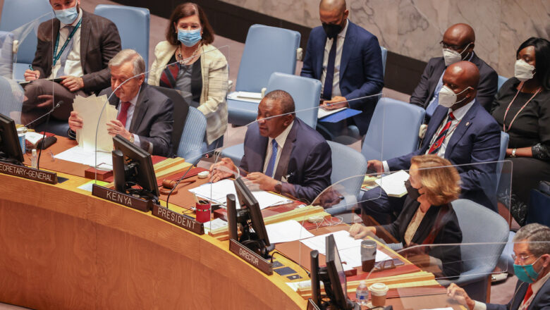 Mismanagement of diversity a threat to global peace and security, President Kenyatta says