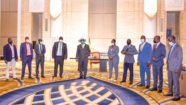 Museveni in UAE on a three day working Visit-Dubai Expo